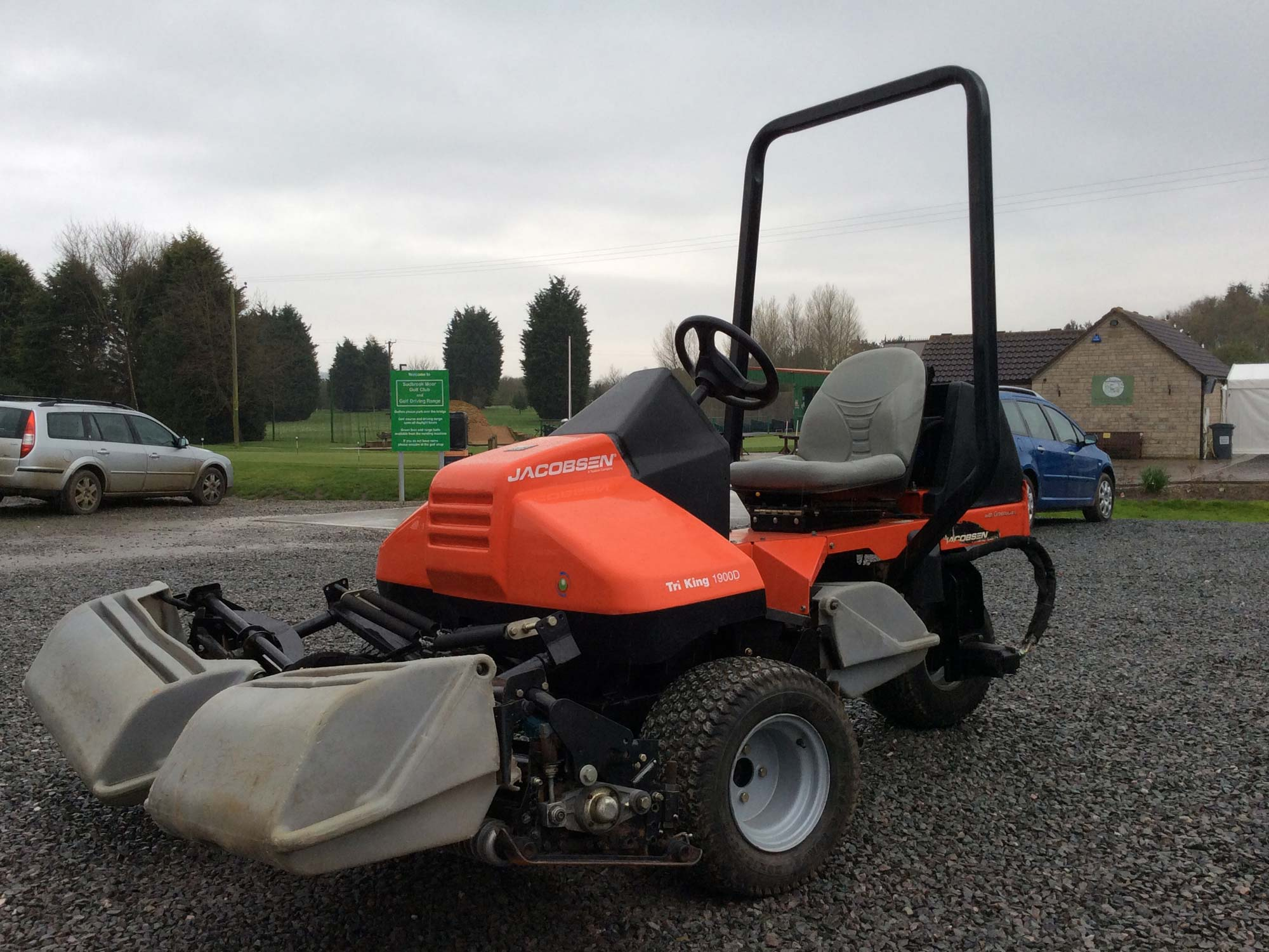 Jacobsen TriKing Cylinder Mower
