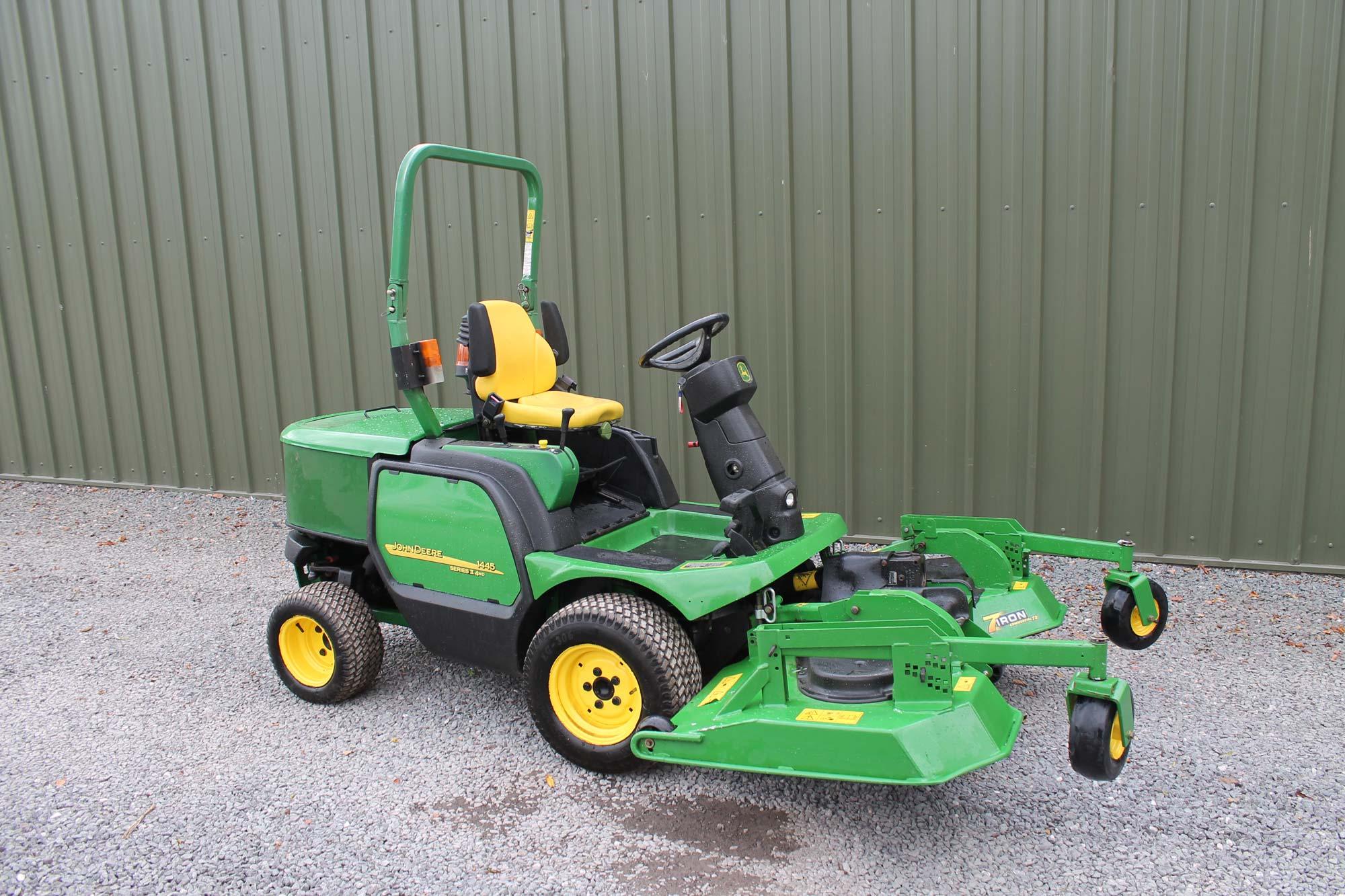 John Deere For Sale >> John Deere 1445 Rotary Mower For Sale Fineturf