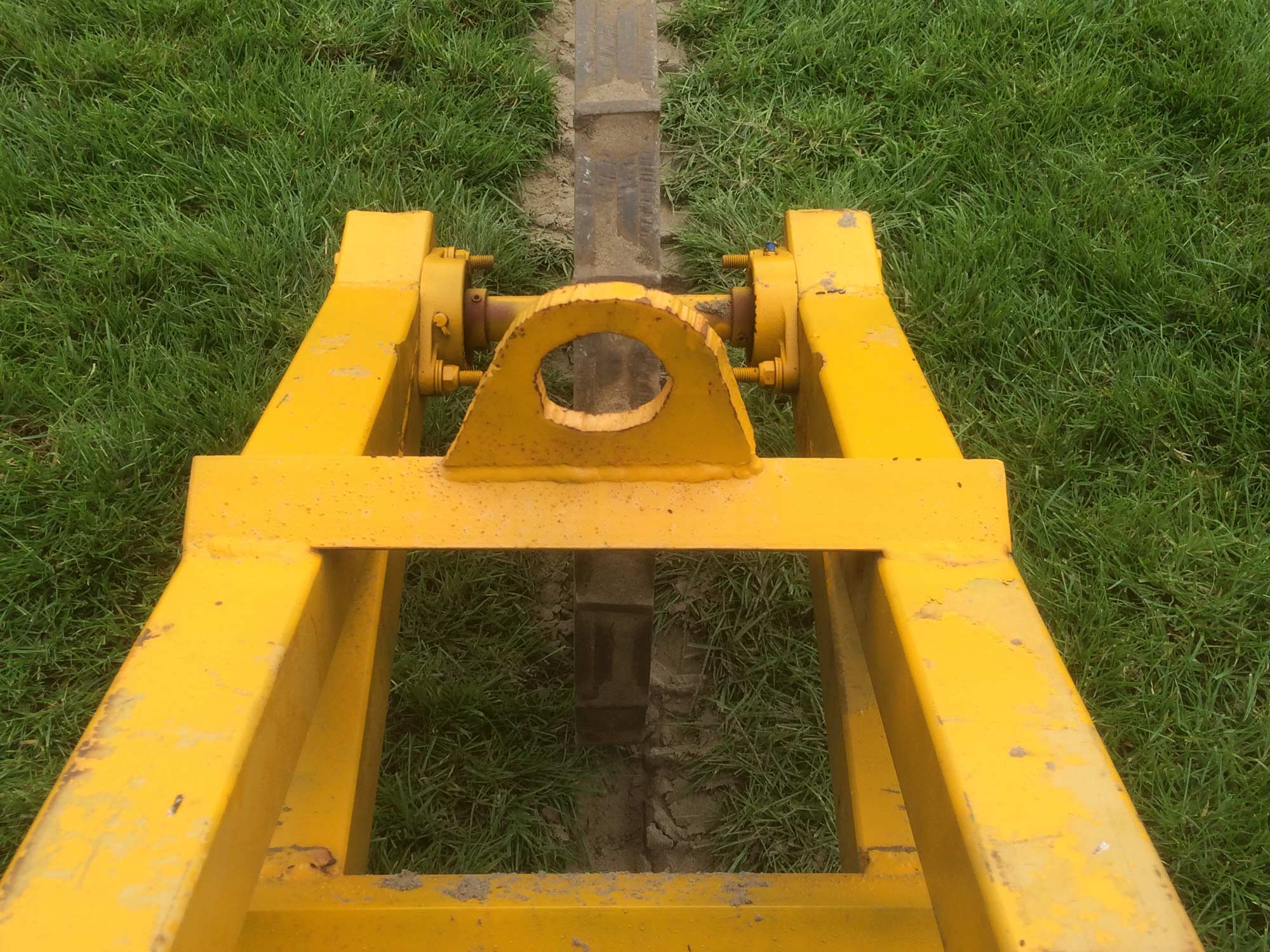 Terra Compactor Wheels : Drainage trench compaction wheel