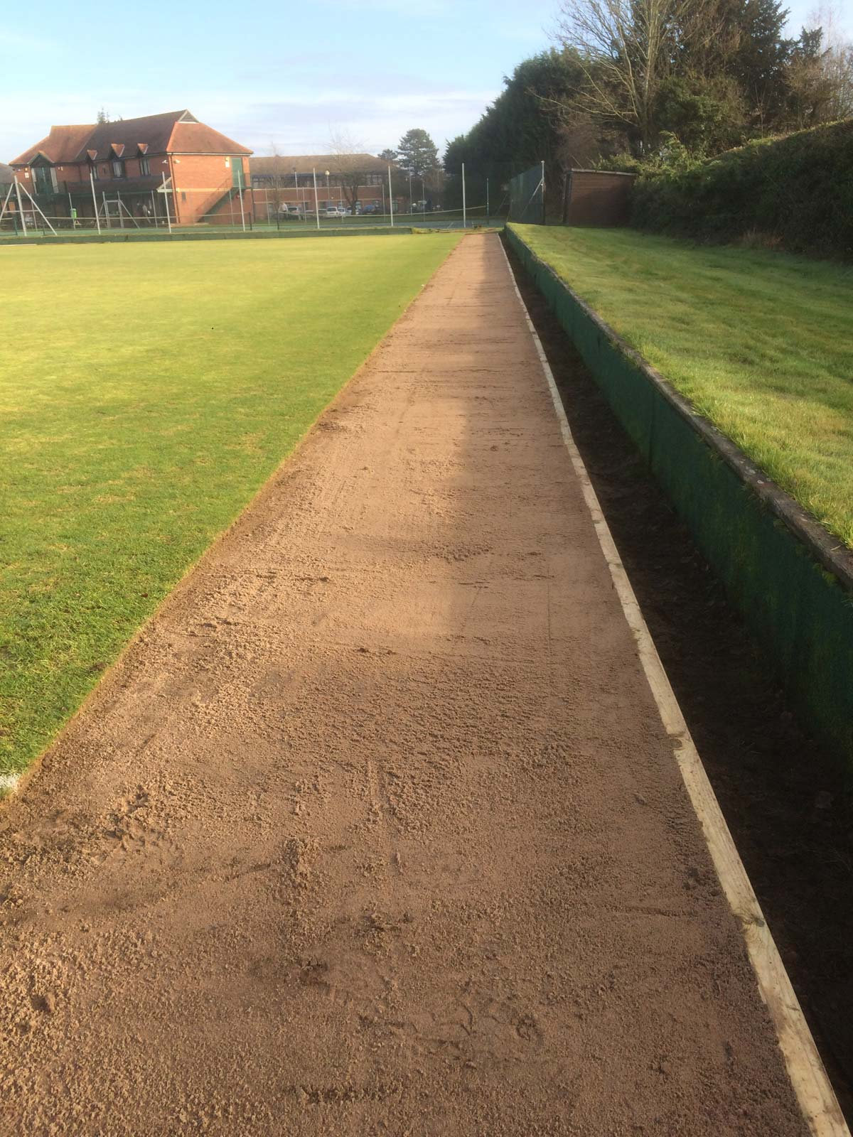 Oxford University Press Bowling Green Timber Edge Replacement