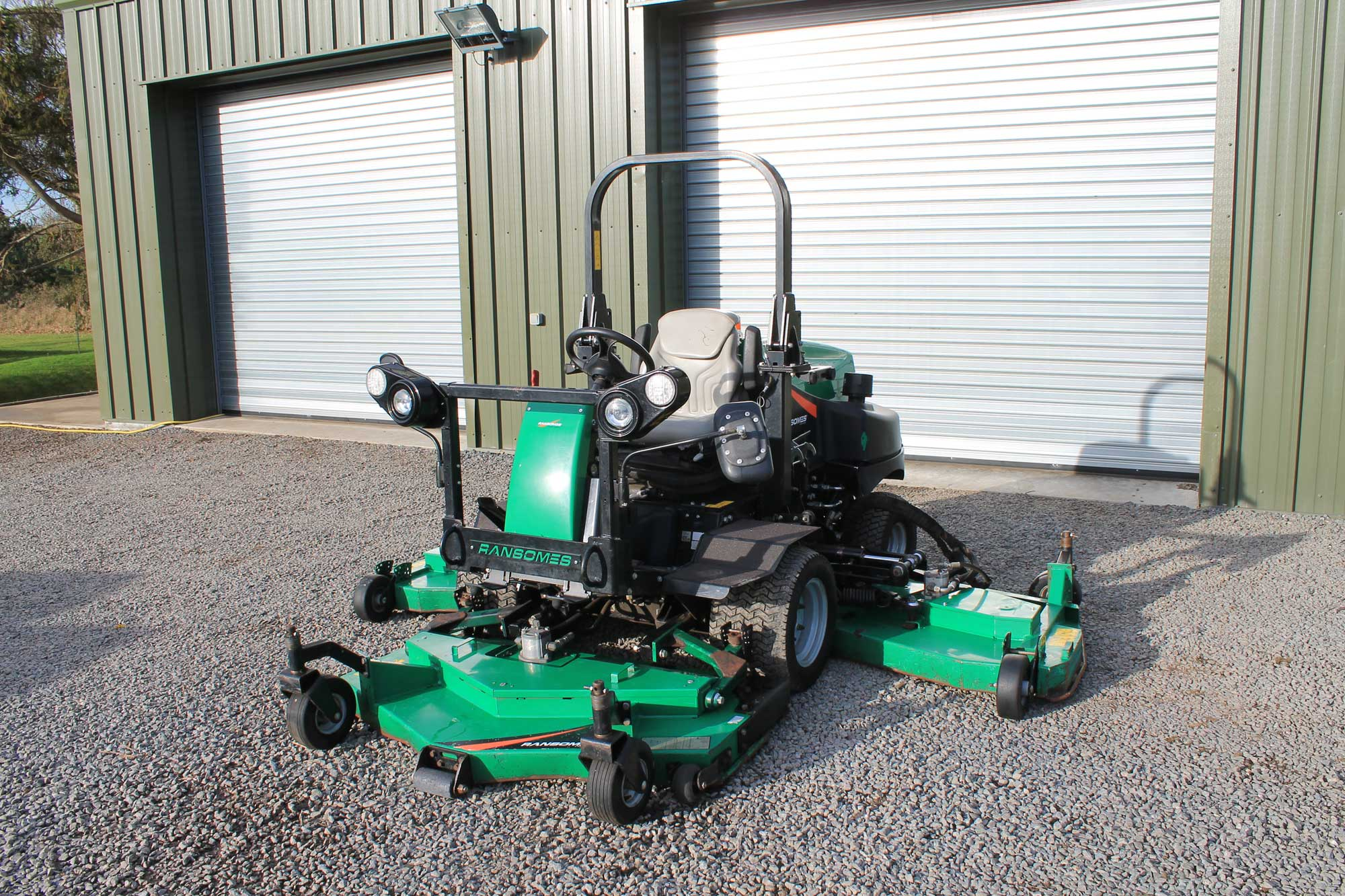 Ransomes HR-6010 Batwing Rotary Mower