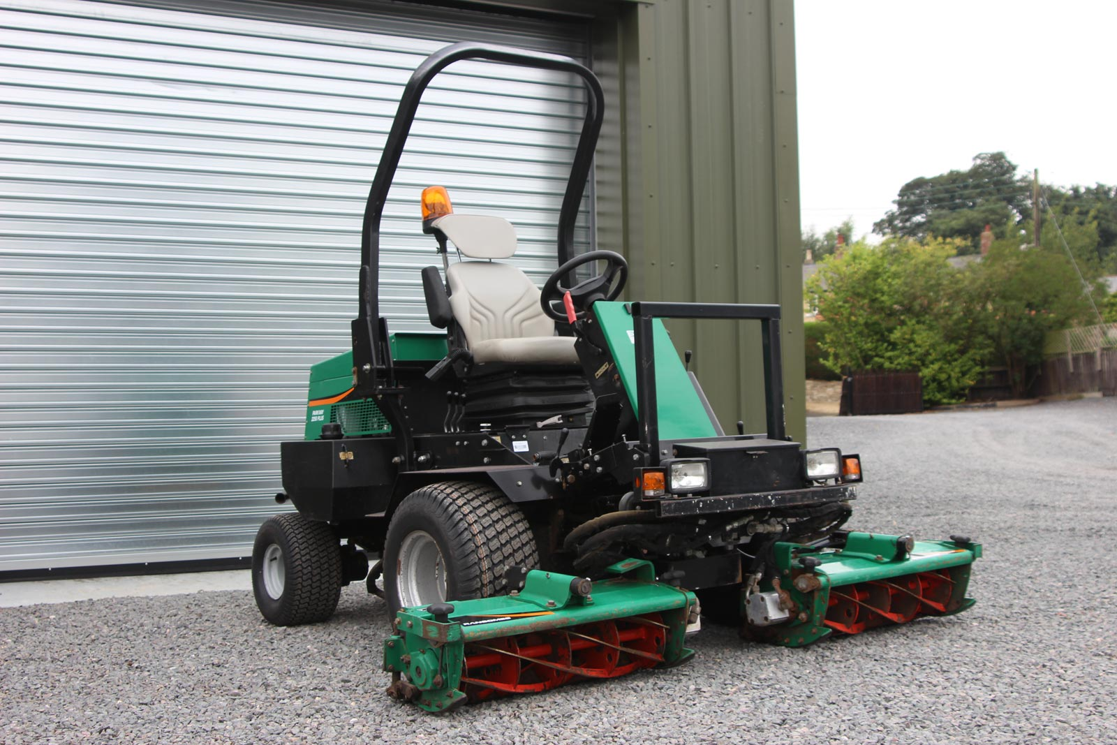 Ransomes cylinder Mower Parts pdf