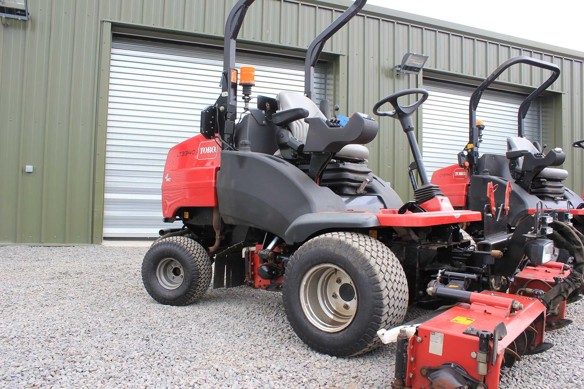 Toro Finish Mower : Toro lt cylinder mower for sale fineturf