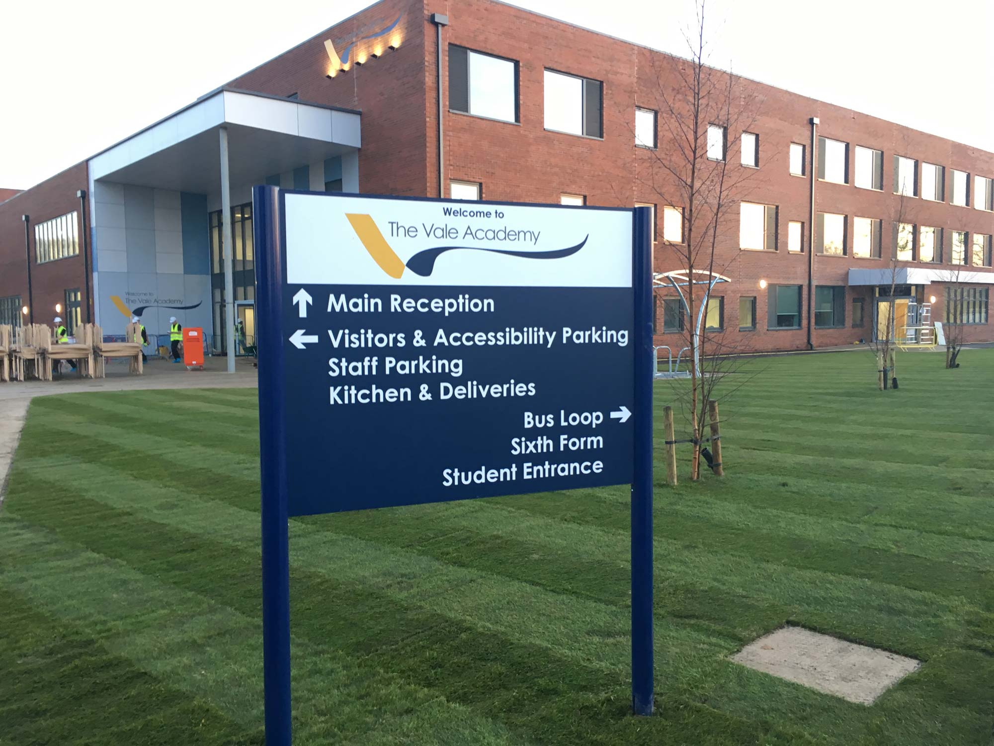 Vale Academy Brigg Landscaping And Tree Planting