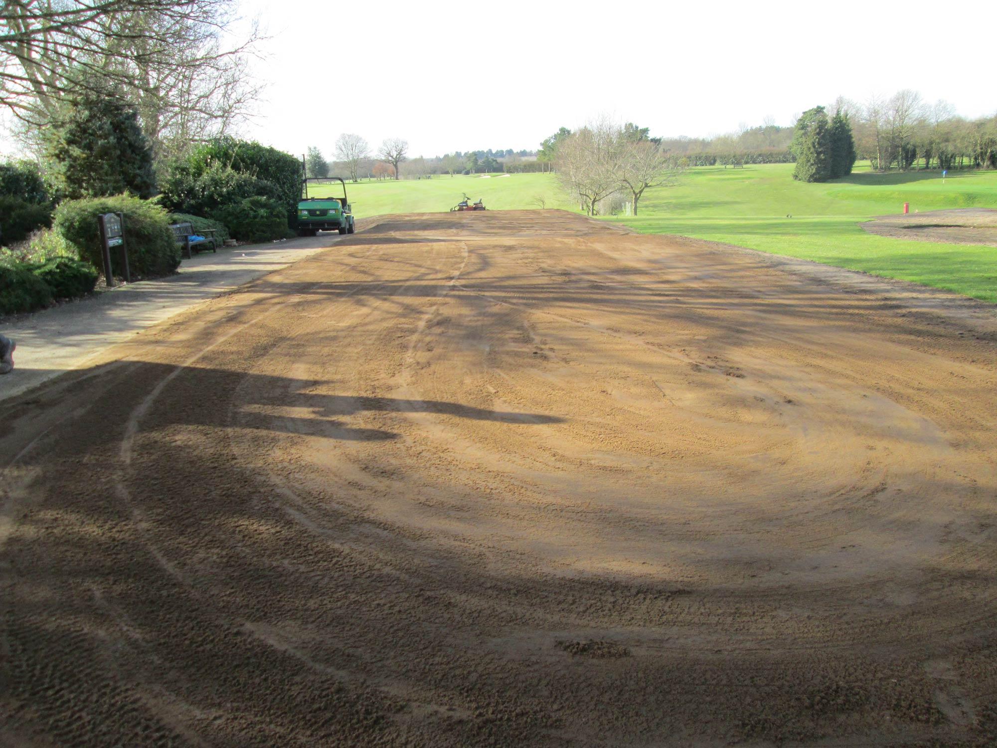 Welwyn Garden City Golf Club Tee and Bunker Renovation